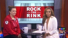 """We're talking to a local figure skater who's performing in the """"Rock the Rink"""" tour with several Canadian legends"""