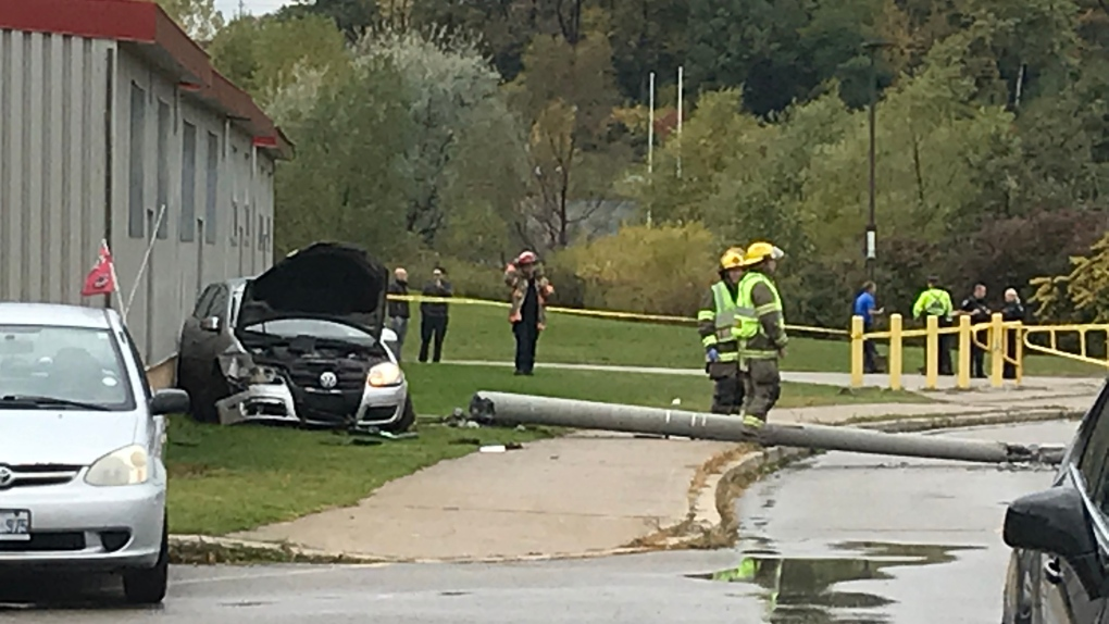 Charges pending after car hits pole, teen passenger seriously injured