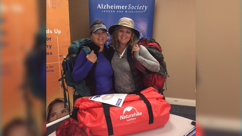 Two local Londoners plan to reach new heights in fight against Alzheimer's