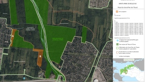 The city is purchasing almost 10 hectares of land in Ste.-Anne-de-Bellevue for the proposed Great Western Park. SOURCE City of Montreal