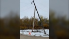All photos of storm damage and the warming centre in the R.M. of West Interlake: Penny Wainwright.