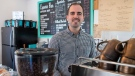 Jason Selby works behind the counter at his cafe in Dartmouth, N.S., on Monday, Oct. 16, 2019. The young entrepreneur has been dealing with a tenant who never paid rent and used every legal step possible to slow his eviction. Problem tenants across the country may force tenancy boards to find a way to flag repeat offenders. (THE CANADIAN PRESS/Andrew Vaughan)