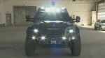 The RPS' tactical rescue vehicle