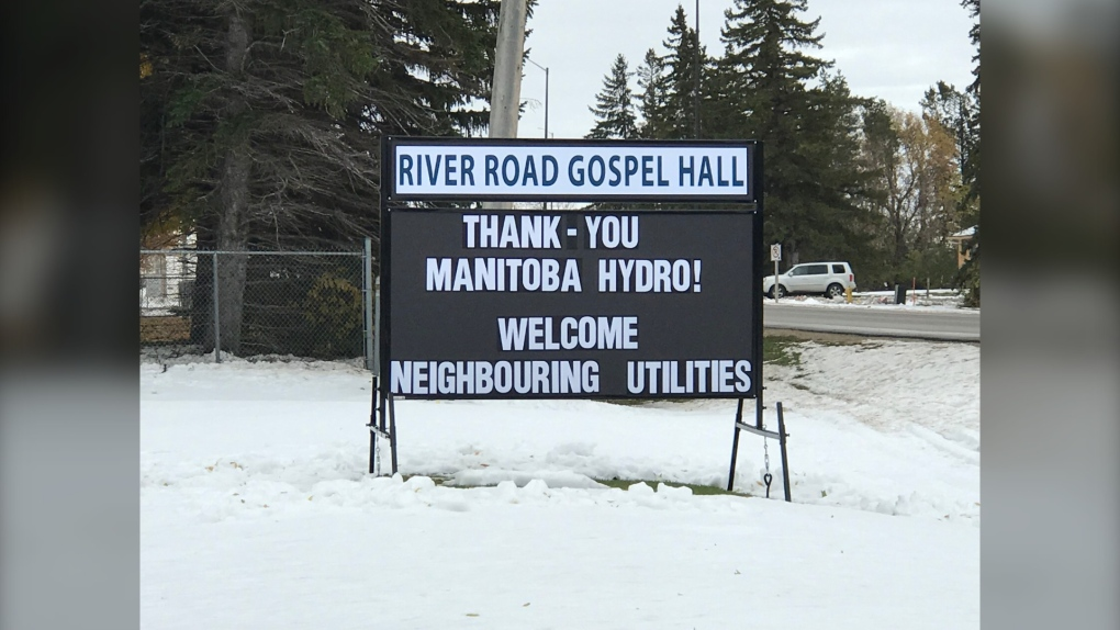 Portage residents giving thanks to hydro workers who restored power