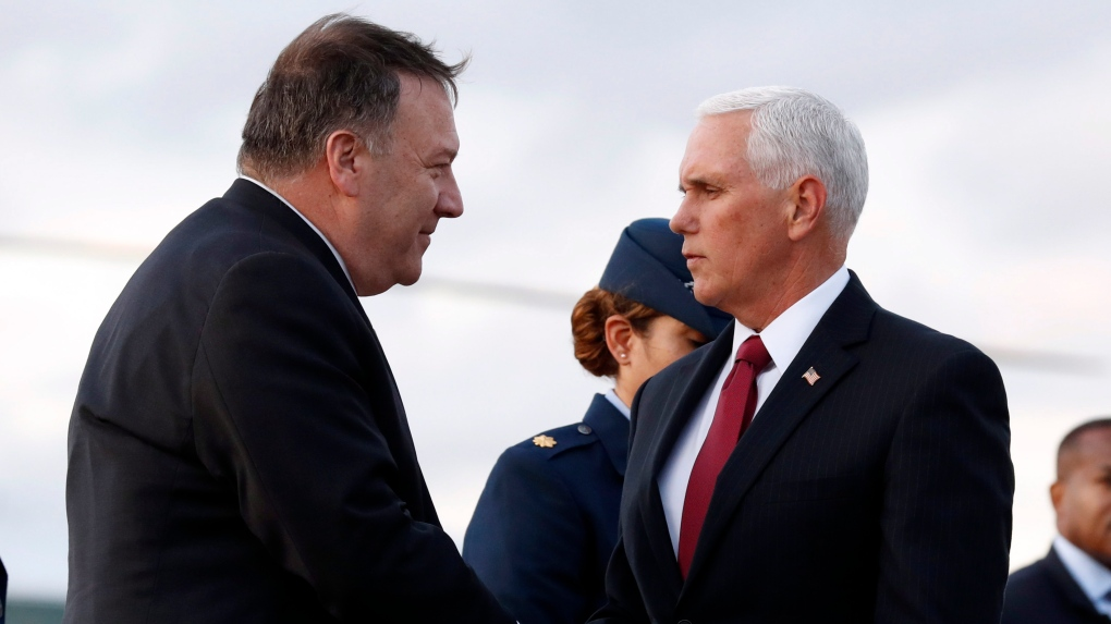 Pence and Pompeo to meet with Erdogan after Trump undermines their efforts
