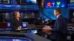CTV News Chief Anchor and Senior Editor Lisa LaFlamme speaks to Conservative Leader Andrew Scheer on Wednesday, Oct. 16, 2019.