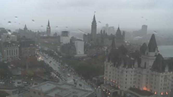 Rainy Ottawa