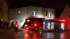 Hamilton Road Fire