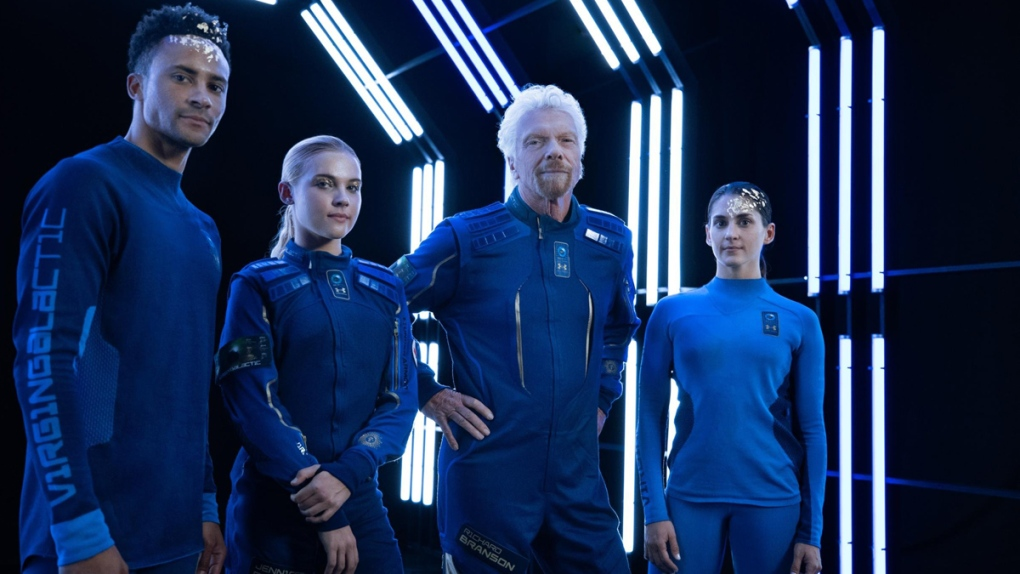 Virgin Galactic's Under-Armour-made spacesuits