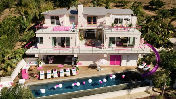 Barbie's Malibu Dreamhouse will be on Airbnb for $60 per night (Courtesy Airbnb)