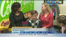Joanne Hulme and her son Wyatt are getting a lesson about his learning disability together. Rachel Lagacé has more.