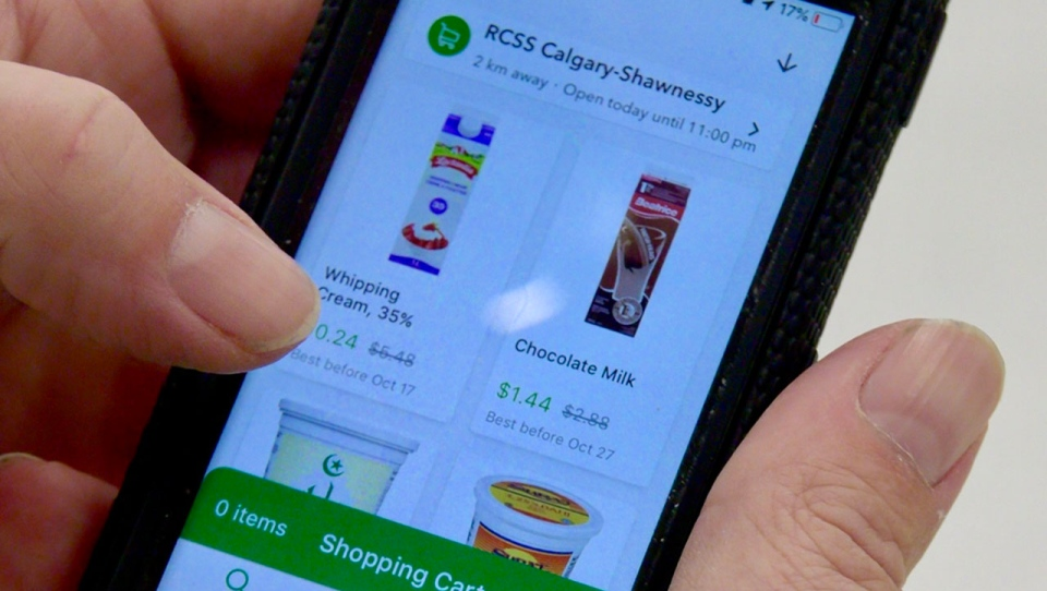 Flashfood gives grocers a platform to upload pictures of food coming to the end of its shelf life and sells it at a discount to customers.
