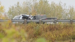 Police respond to a fatal crash on Highway 101 in Windsor, N.S., on Oct. 17, 2019. (Bill Roberts)