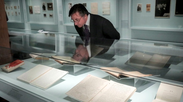 Library exhibit offers glimpse into Salinger's life and work