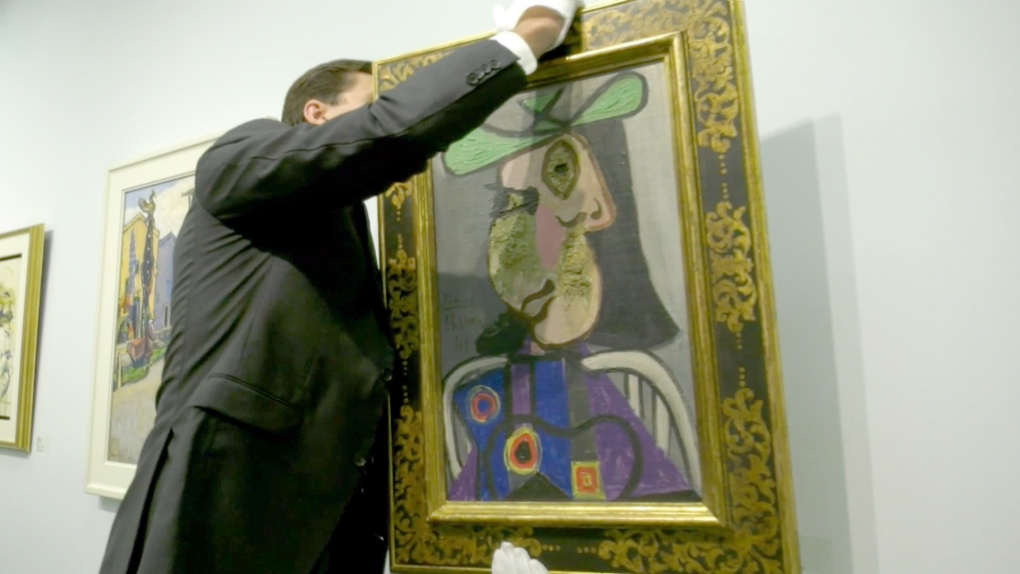 Picasso, Carr and Group of Seven among prominent artists on display ahead of auction