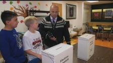 Sudbury schools vote in mock election