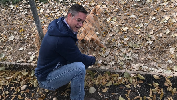 Tim Sinclair-Smith is pictured at the Saskatoon Forestry Farm Park and Zoo Oct. 17, 2019. (Chad Leroux/CTV Saskatoon)