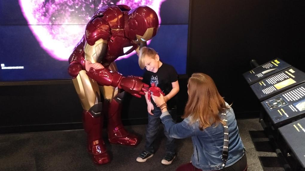 Iron Man meets Iron Kane as Avengers assemble in Edmonton