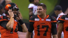 The QB connection between Fajardo and Lulay