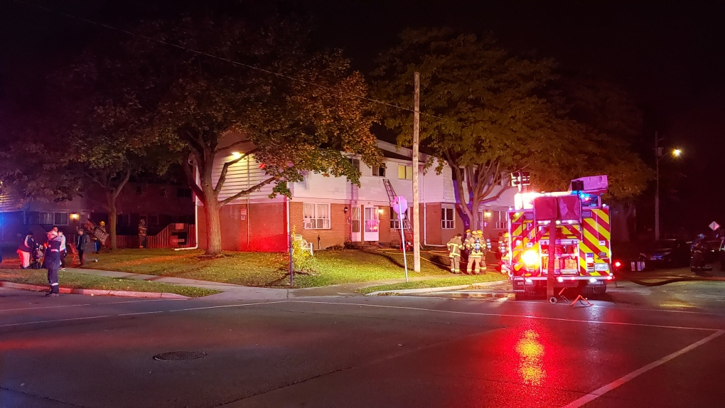 Child playing with combustibles causes fire in home