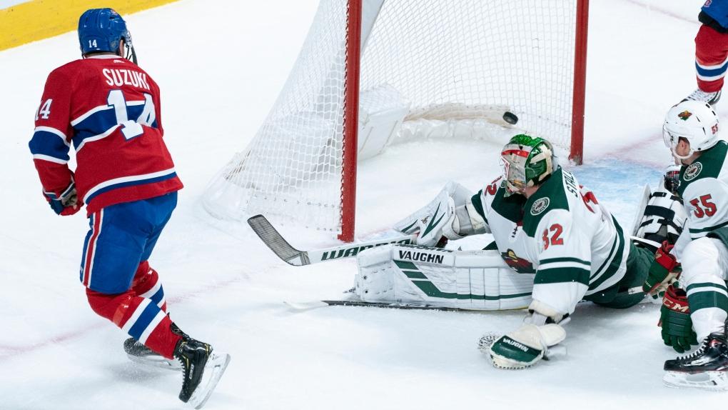 Nick Suzuki scores first NHL goal