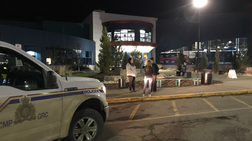 "The TransAlta Tri Leisure Centre in Spruce Grove, west of Edmonton, was evacuated Thursday evening for what police called an ""unspecified threat."""