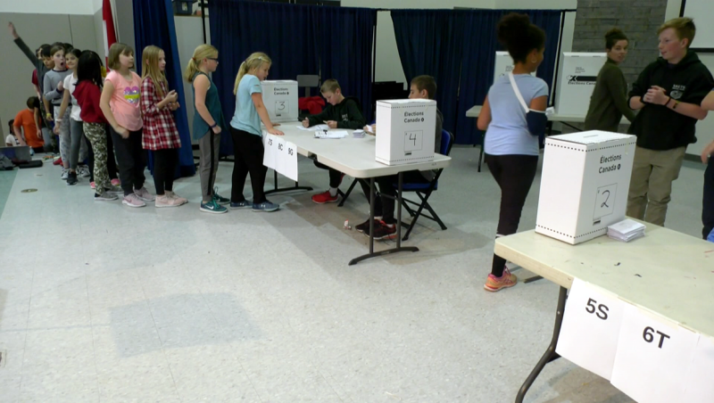Over 1 million students are participating in Student Vote Canada