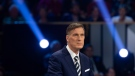 People's Party of Canada leader Maxime Bernier takes part in the the Federal leaders French language debate in Gatineau, Que. on Thursday, October 10, 2019. THE CANADIAN PRESS/Adrian Wyld