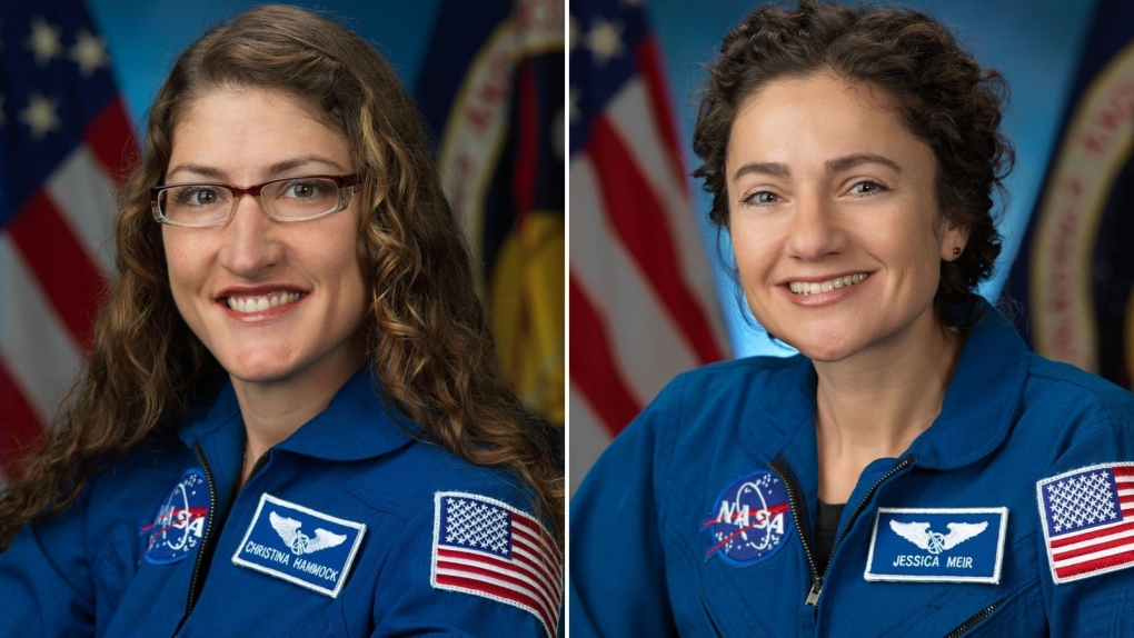 The first all-female spacewalk happens today