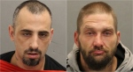 Derek DeSousa, left, and Jeremiah Cook, right, are pictured in these photos released by police. (Toronto police handout)