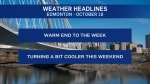 Oct. 18 weather headlines