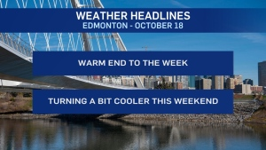 Oct. 18 weather headlines