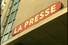 Montreal newspaper La Presse is threatening to close Dec. 1 if employees don't agree to cut costs (Sept. 3, 2009)