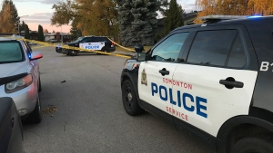Police were called to a northeast Edmonton neighbourhood after an assault on Friday morning. (Matt Marshall/CTV News Edmonton)