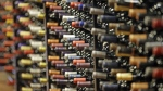 Bottles of wine are displayed during a tour of a state liquor store, in Salt Lake City, on June 16, 2016. (Rick Bowmer / AP)