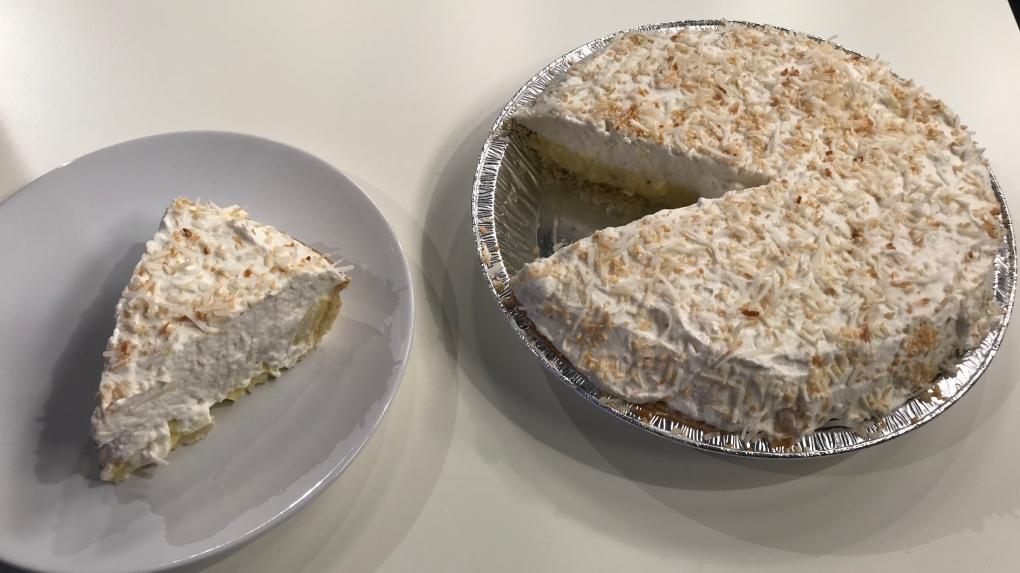 Marilyn's coconut cream pie