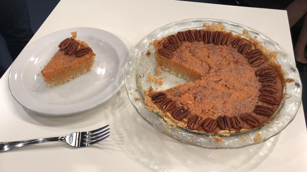 Caitlin's sweet potato pie