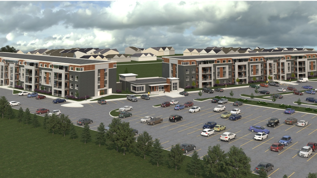 Two new apartment buildings might be coming to Tecumseh