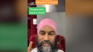Singh's TikTok goes viral