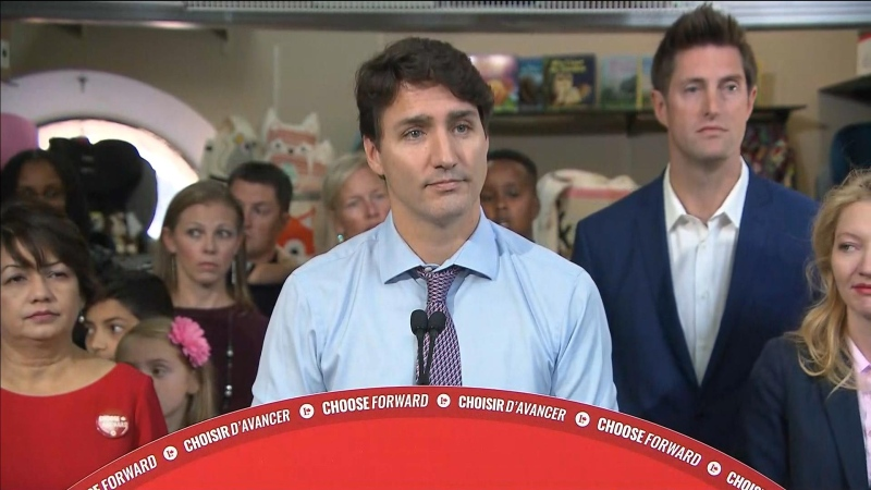Liberal Leader Justin Trudeau will make a stop in Calgary on Saturday during the final weekend of the federal campaign.
