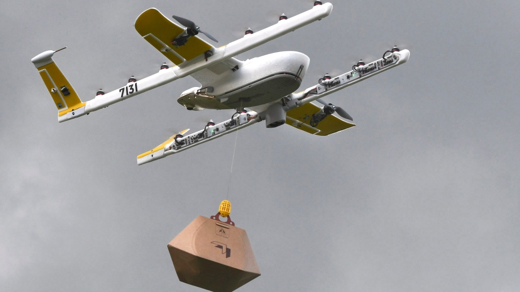 Google affiliate begins drone deliveries in U.S. town