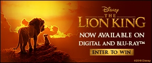 The Lion King on Blu-Ray Rotator
