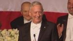 Mattis mocks Trump at fundraiser