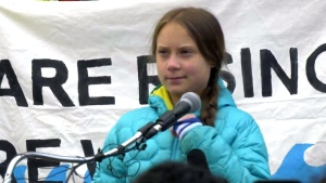 The Swedish teenager inspired the Fridays For Future movement and weekly climate strikes to highlight the need for urgent action aimed at halting climate change. (CTV News)