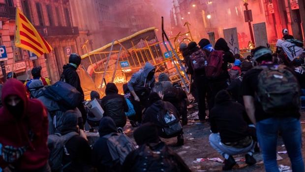 Image result for barcelona protests