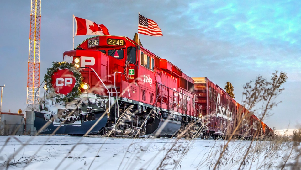 calgary, holiday tradition, cp holiday train, albe