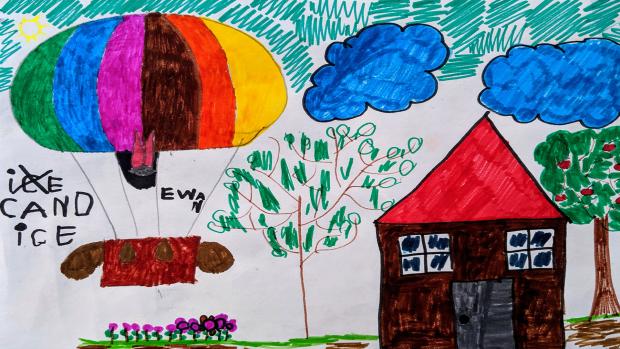 Ewan Baltare, 5 years old, Grade 1, St. Daniel's Elementary School