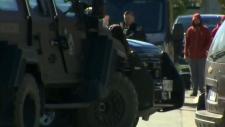Guns drawn, schools closed in Brantford standoff