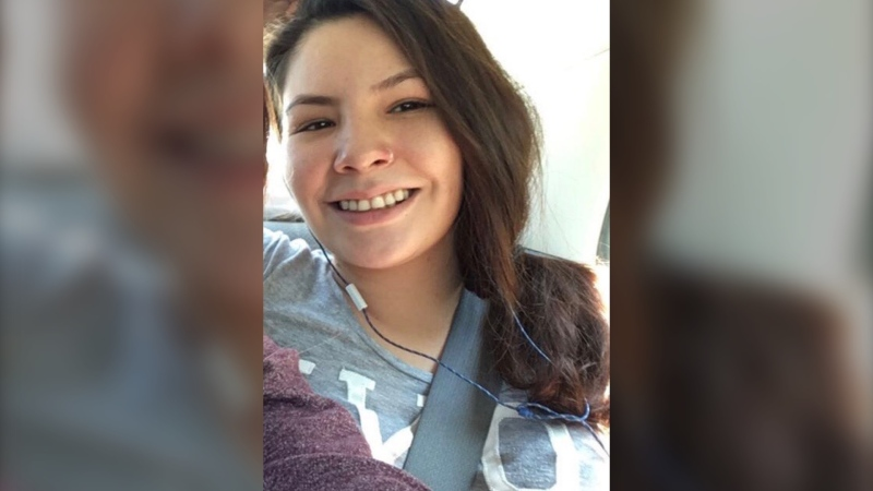 Nature Duperron, 25, was reported missing and found dead in April 2019. RCMP are now investigating her death as a homicide. (Photo provided.)