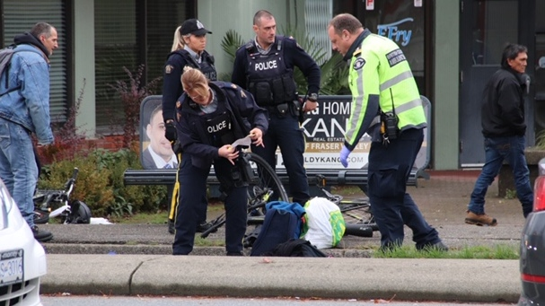Surrey RCMP responded to the scene.